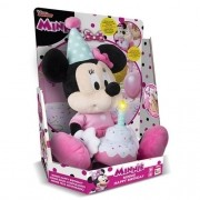 Pelúcia Minnie Happy Birthday com Som - Multikids Br374