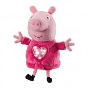 Pelúcia Peppa Pig Hora de Dormir com Luz e Som - Sunny 2327