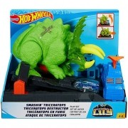Pista Hot Wheels Ataque de Triceratops - Mattel GBF97