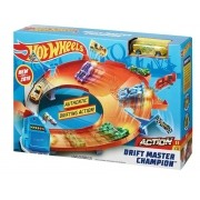 Pista Hot Wheels Campeonato Drifiting Mattel GBF84