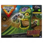 Pista Monster Jam e Carro Modelo Zombie Madness - Sunny 2021