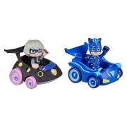 PJ Masks Mini Veículos Menino Gato Vs Garota Lunar - Hasbro 423883