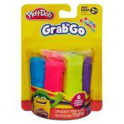 Play Doh Grab N Go Massa Bastao Com 6 A2764 - Hasbro