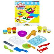 Play Doh Kitchen Moldar e Fatiar B9012 - Hasbro