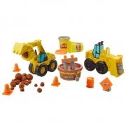 Play Doh Wheels Escavadeira Carregadeira Hasbro E4294 Hasbro