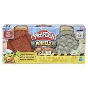 Play Doh Wheels Massa de Construção Tijolo e Pedra E4524 - Hasbro