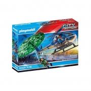 Playmobil City Action Helicóptero de Busca com paraquedas - Sunny 2554