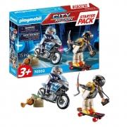 Playmobil City Action Perseguição Policial Starter Pack - Sunny 2549