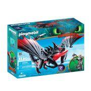 Playmobil Como Treinar Seu Dragão Grimmel Com Deathgripper 70039 - Sunny