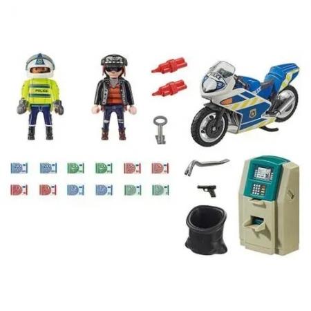 Playmobil Perseguição do Ladrão de Dinheiro - Sunny 2545