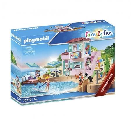 Playmobil Sorveteria a Beira Mar 108 Peças - Sunny 2521