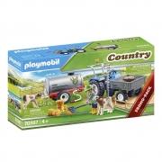 Playmobil Trator com Tanque Para Agua - Sunny 2537