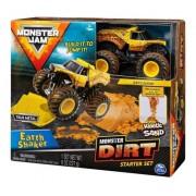 Playset com Rampa e Veículo Monster Jam Earth Shaker - 2028