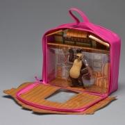 Playset e Mini Figura  Masha e o Urso Casa - Sunny 1471