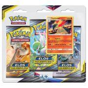 Pokemon Cartas Sol E Lua 10 Elos Inquebráveis Typhlosion Blister Triplo Com 19 Cards