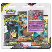 Pokemon Sol E Lua 9 Blister Triplo União De Aliados Deoxys Copag 93075