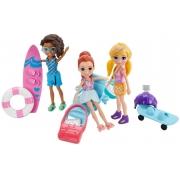 Polly Pocket 3 Bonecas Aventura na Água - Mattel GFR09