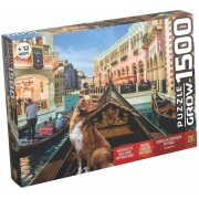 Quebra-Cabeça Pet na Gôndola 1500 Peças - Grow 03939