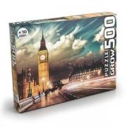 Quebra Cabeça Puzzle 500 Peças Londres  Grow 3456