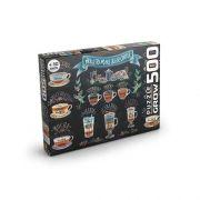 Quebra Cabeça Puzzle Café Gourmet 500 Peças - Grow 3606