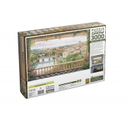 Quebra-Cabeça Varanda em Roma 3000 peças - Grow 03941