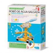 Robô De Água Salgada Brinquedo Educativo - Kosmika 03353