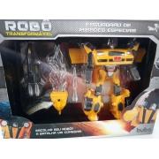Robo Transformavel Esquadrao De Missoes Especiais Amarelo- Buba 2090