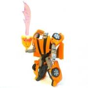 Robo Transformavel Esquadrao De Missoes Especiais Laranja  - Buba 2090