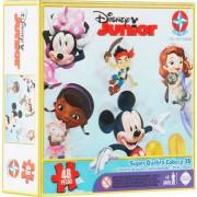 Super Quebra Cabeca 3d Disney Jr 48 Peças - Estrela