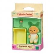 Sylvanian Fam. Família Poodle Toy Baby Poodle Toy Epoch 5260