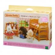 Sylvanian Families Conjunto Quarto Infantil 15 peças - Epoch 5338