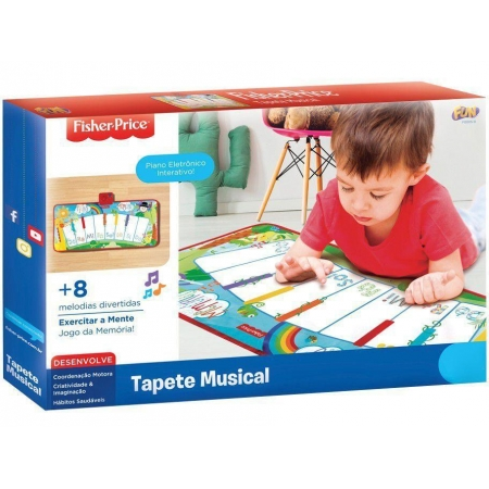Tapete Musical M Fisher Price - Fun F00059