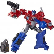 Transformers Cyberverse Adventures Optimus Prime - Hasbro E7096/E7053