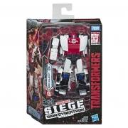 Transformers War for Cybertron branco e vermelho II - Hasbro E3432