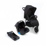Travel System Collina Trio Black Style - Dorel CAX00447