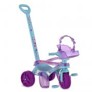 Triciclo Mototico Disney Frozen 2 Azul e Roxo - Bandeirante