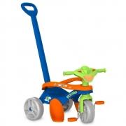 Triciclo Mototico Passeio e Pedal Azul e Verde 692 - Bandeirante