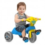 Triciclo Tico-Tico Club Pedal  Azul - Bandeirante 684