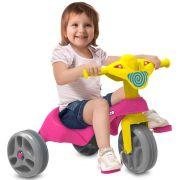 Triciclo Tico-Tico Club Pedal Rosa 683 - Bandeirante