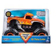 Veículo Monster Jam - Escala 1:24 -El Toro Loco 2022 - Sunny