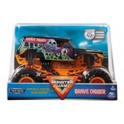 Veículo Monster Jam Escala 1:24 Grave Digger Preto Sunny 2022