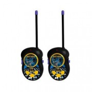 Walkie Talkie Batman Preto E Amarelo Candide 9650