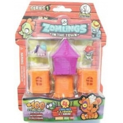 Zomlings Bairro Zombie Surpresa Serie 1 Laranja - Fun  82709