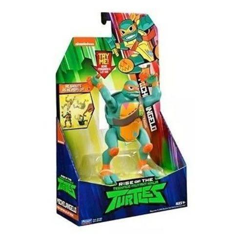 Action Fig Tartarugas Ninjas Michelangelo Com Som 2041 Sunny