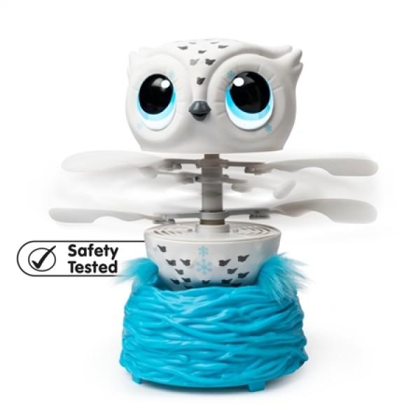 Air Hogs Owleez Branco Coruja Voadora - Sunny 2105