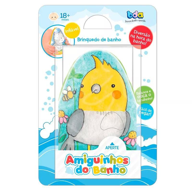 Amiguinhos Do Banho Calopsita 2387 - Toyster
