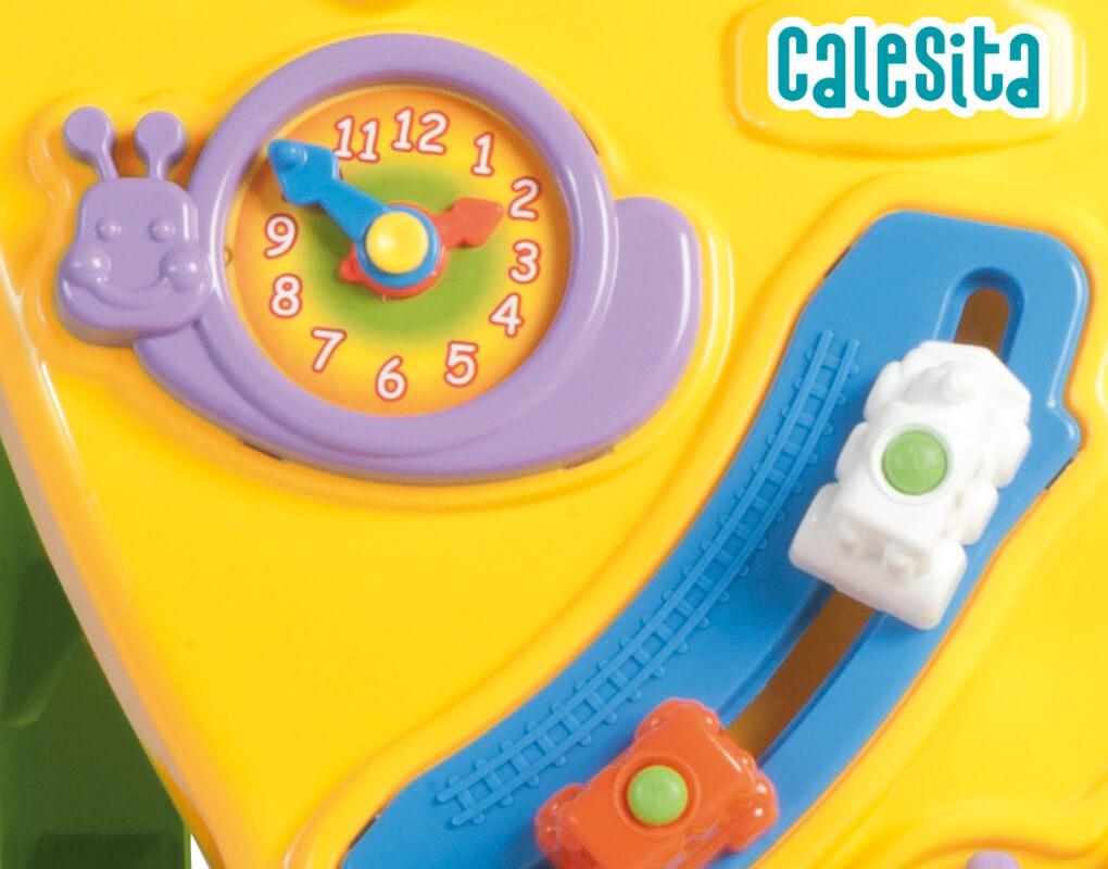 Andador Feliz Amarelo 0902 - Calesita