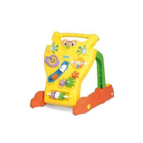 Andador Feliz e Centro de Atividades Amarelo TaTeTi 0902