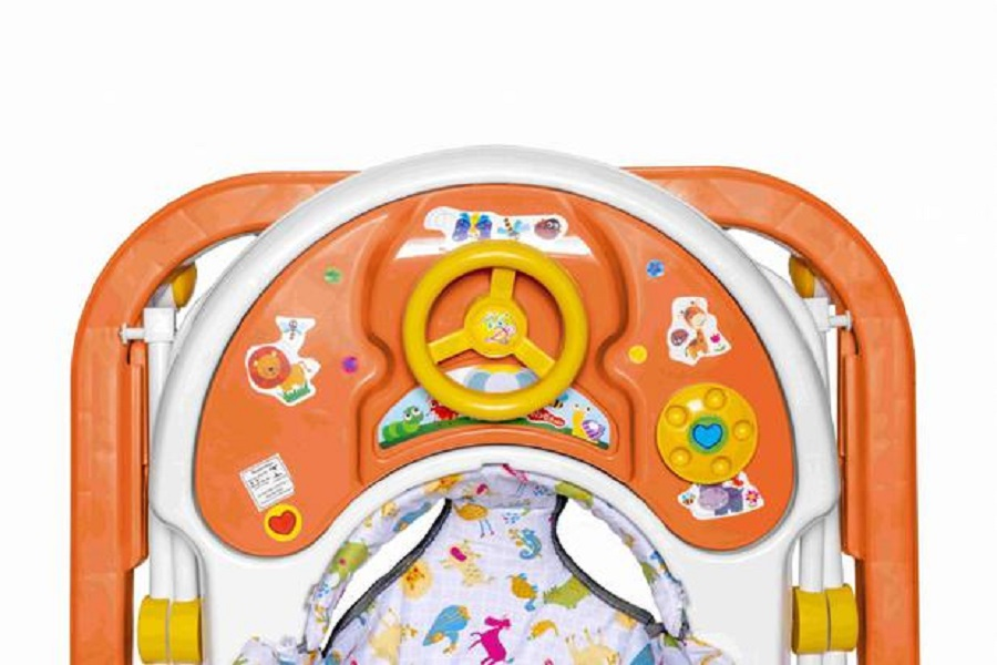 Andador Sonoro Laranja - Styll Baby AND-98.003-05