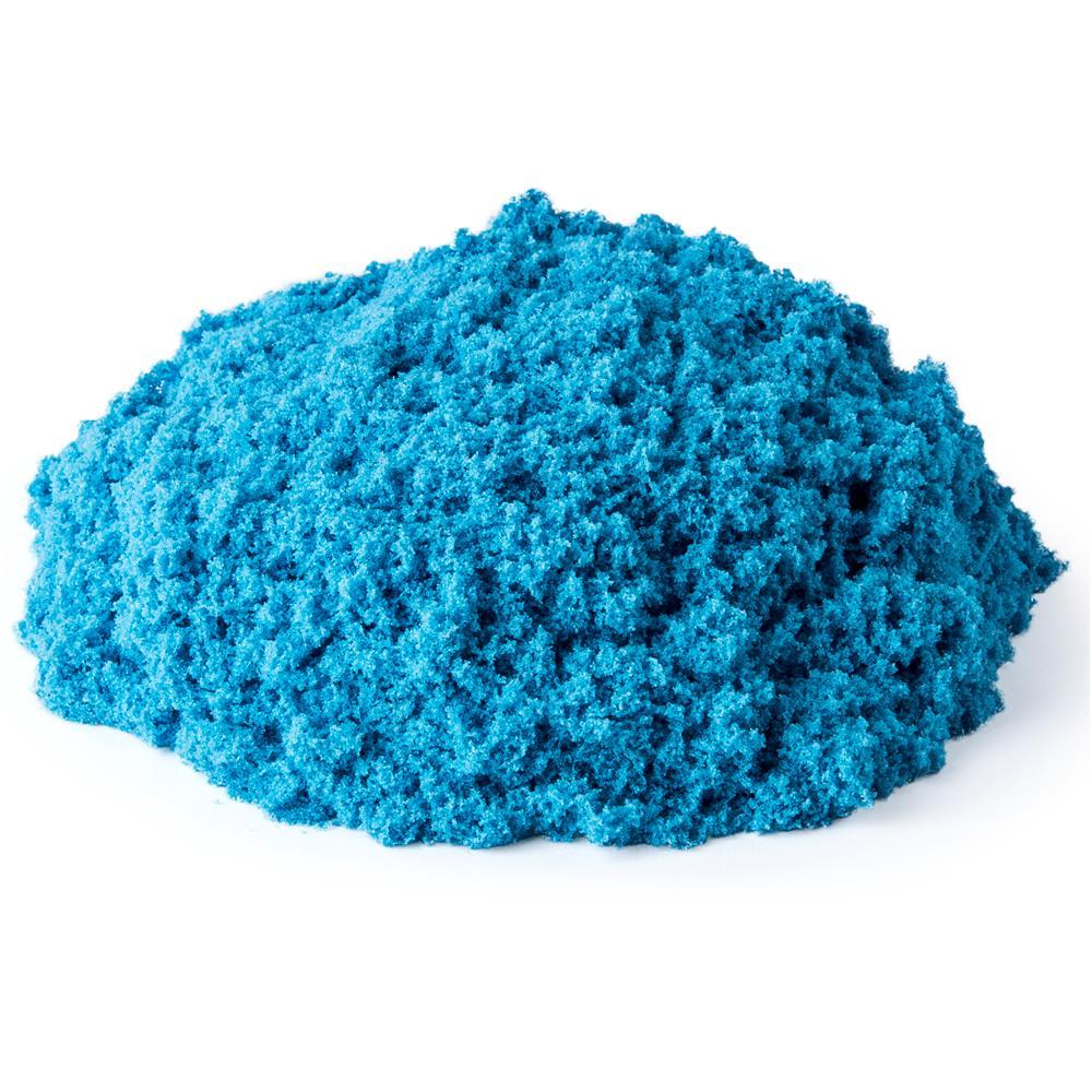 Areia De Modelar 227 G Cores Neon Azul 1801 Sunny